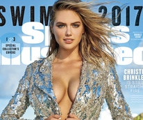 Kate Upton on cover of 2017 Sports Illustrated swimsuit cover