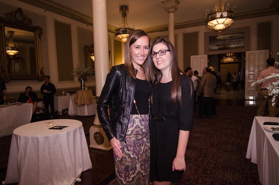 Krista White and Sarah Carr