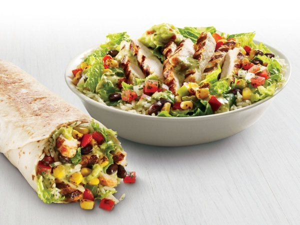 Taco Bell, Cantina Bowl, upscale menu