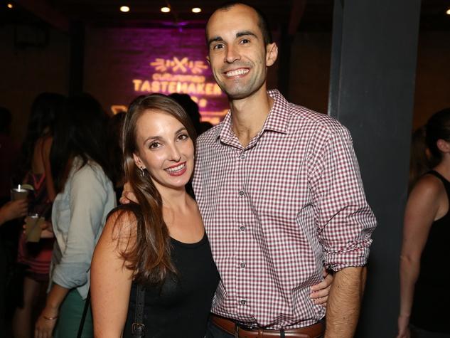 CultureMap Tastemaker Awards 2015 Megan Behrens Matthew Confer