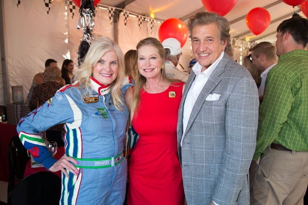 Houston, Mica Mosbacher Racing Forward event, October 2015, Mica Mosbacher, Lisa Niemi Swayze, Albert DePrisco