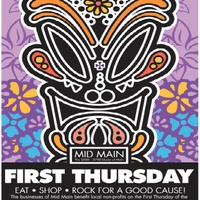 Mid Main First Thursday Block Party