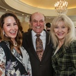 Liz Glanville, from left, Jodie Hoffer and Astrid Van Dyke at the Huffington Center on Aging luncheon October 2014