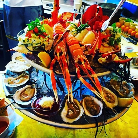 State of Grace shellfish tower