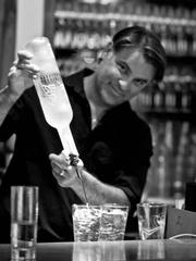 Bartender of Parigi restaurant in Dallas