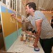 CultureMap Social: The Art Edition at Palm Door Xavier Schipani artist painter painting