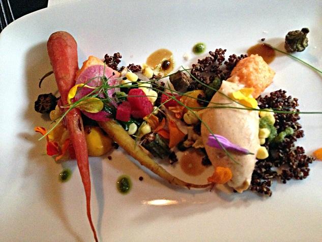Quinoa salad by Austin chef Kenzie Allen