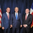 1 Dr. Mark Kline, from left, George W. Bush and Dr. David Poplack at An Evening with a Legend February 2015