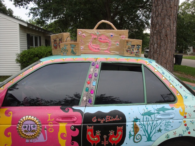 Art Car Parade Houston new cars may 2013 Sam VanBibber