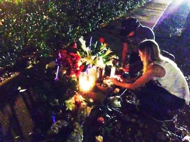 Chelsea Norman memorial December 2013
