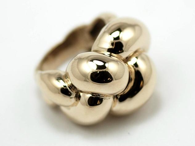 Dian Malouf gold ring
