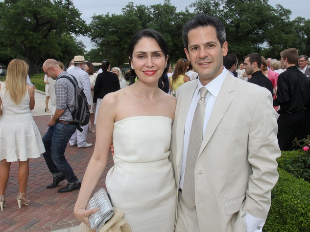 Hermann Park Conservancy Gala April 2013 Jennifer Segal and Justin Segal
