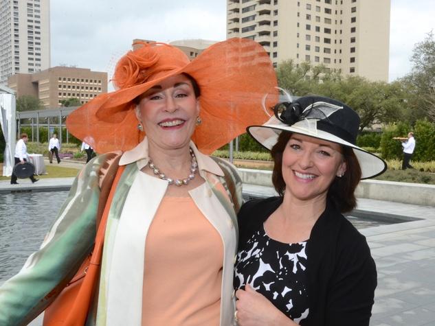 News, Shelby, Hermann Park Conservancy Hats in the Park, Anna Dean, Diane Armijo