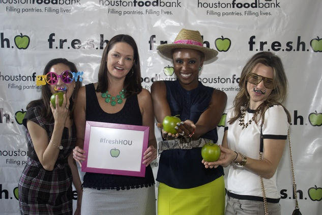 Shari Bingham from left, Lisa Pounds, Shavonnah Roberts Schreiber, and Lauren Yapundich at the f.r.e.s.h. new young professionals group party June 2014