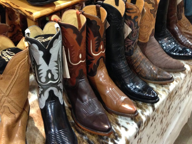 A Houston Rodeo first: Legendary cowboy boots to be on sale ...