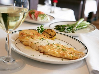 Dover sole, the grill on the alley