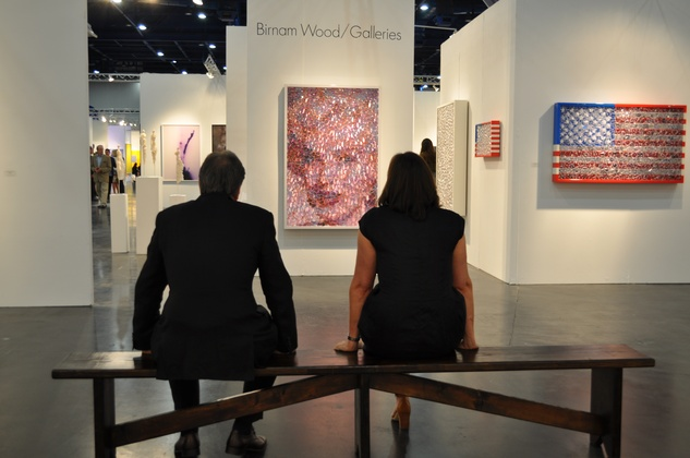News, Shelby, Texas Contemporary opening, Sept. 2014,  admirers