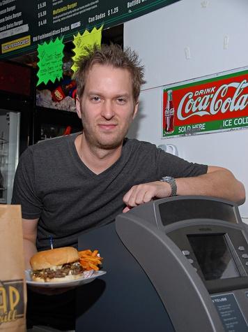 Ricky Craig, Hubcap Grill, hamburger, burger