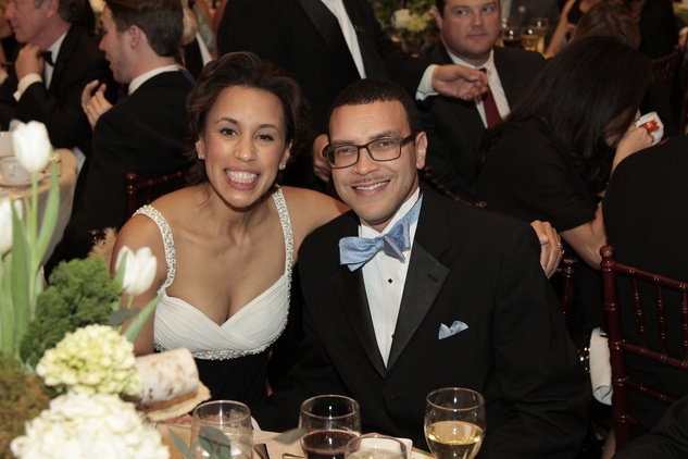 News, Shelby, Park Lover's Ball, Feb. 2015, Crystal and Randy Wright