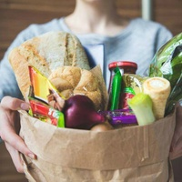 Instacart groceries grocery bag delivery food