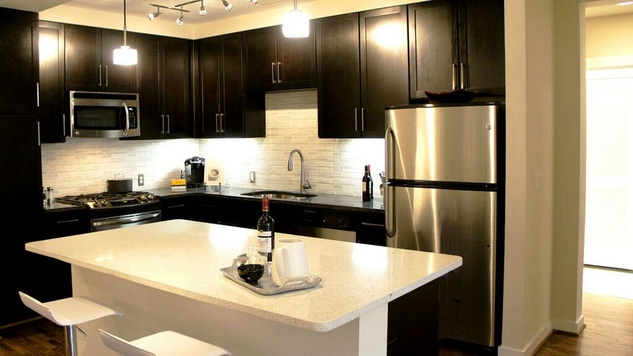 Kitchen of The Grove at Wilcrest/Finger Companies Development