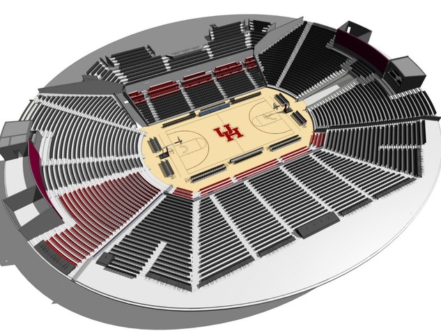 Fertitta Center interior rendering