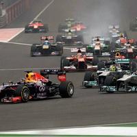 Anthony Vettel Formula 1 India Grand Prix