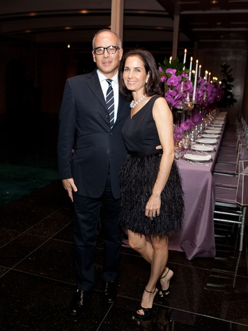 Matthew and Ann Wolf at the Asprey dinner October 2013