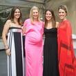 Bianca Colgin Watson, Nicolette Lamont, Ginna McLanahan, Brittan Cobb at Art Ball 2014