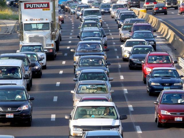Austin traffic highway I-35 congestion
