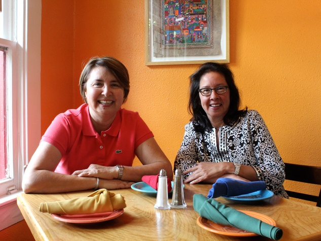 Terry Flores and Lily Hernandez of Bocados and Red Ox Grill