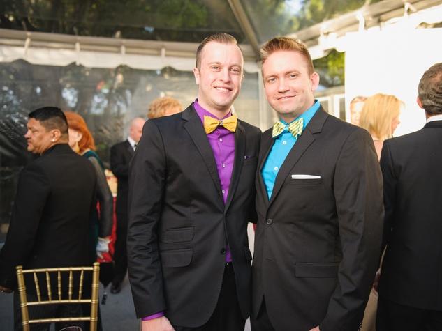 Daniel Smith, Wesley Stephens at Art Ball 2014