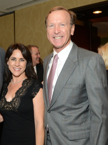 3 Maria and Neil Bush at the Salvation Army luncheon November 2013