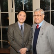 3 3198 Pierre Yu, left, and Harry Gee at the Reception Honoring Mayor for Arts Leadership February 2015