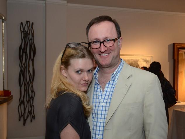 58 Ashton Kaminski and James Glassman at the CultureMap Social at Gremillion and Co. Fine Art March 2015