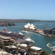 Sydney, view from hotel room