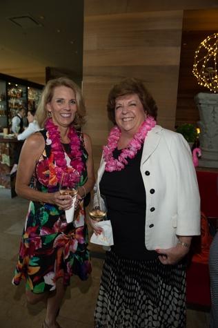 3 Cheryl Gallagher, left, and Karen Hartnett at the Flock and Flamingle event September 2014