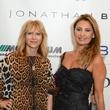 99 Leina Morrison, left, and Varda Dror at the Jonathan Blake fashion show October 2014