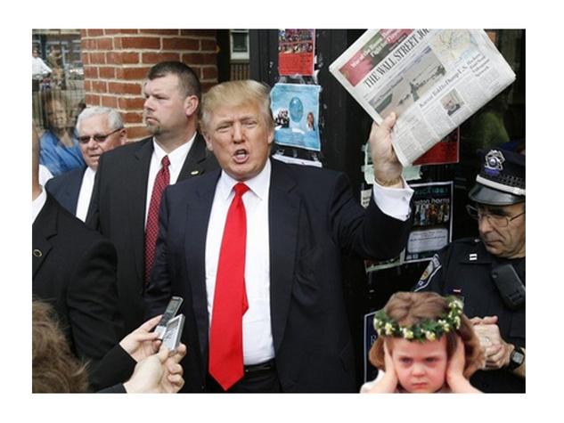 News_Little girl_Donald Trump