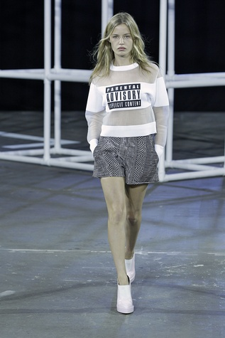 Alexander Wang runway show spring 2014 collection