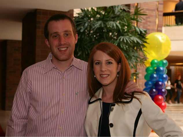 Eric Brown, Emily Hes, Pot of Gold Luncheon