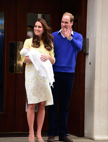 Houston, The Royal Family, Princess Charlotte Elizabeth Diana, May 2015