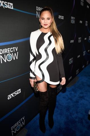 Chrissy Teigen at Taylor Swift Club Nomadic