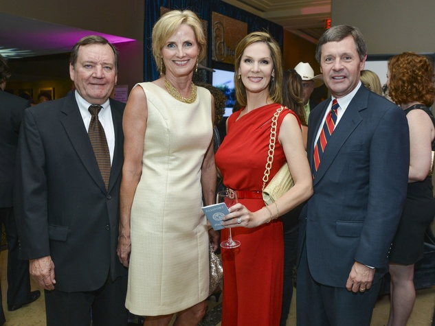 19 Greater Houston Partnership Gala August 2013 Jerald Gibbs, Val Gibbs, Katherine Murphy, Paul Murphy