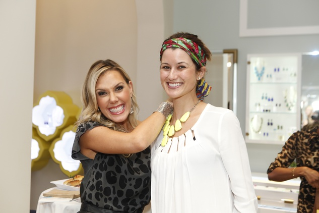 9 Kendra Scott, left, and Whitney Garibay at WOW with Kendra Scott October 2014