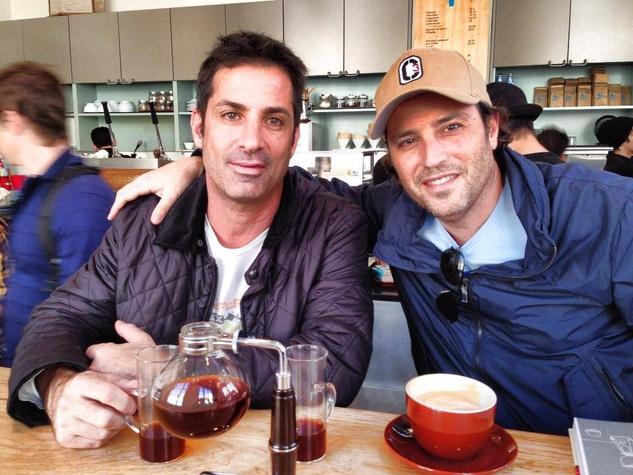 Siphon Coffee Houston Michael Caplan and Edward Treistman.