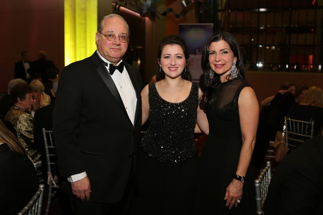 4 Anthony Petrello, from left, Mane Galoyan and Cynthia Petrello at the HGO Concert of Arias February 2015