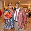 5 Anita Webber Smith, son Jackson Smith at the HFAF at Neiman Marcus Art of Fashion September 2014