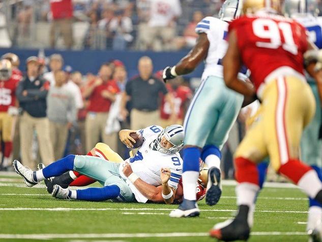 Dalla Cowboys quarterback Tony Romo