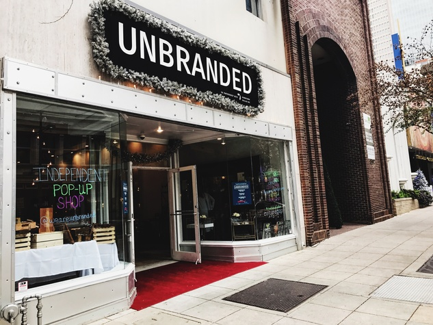 Unbranded pop-up 2016 in downtown Dallas